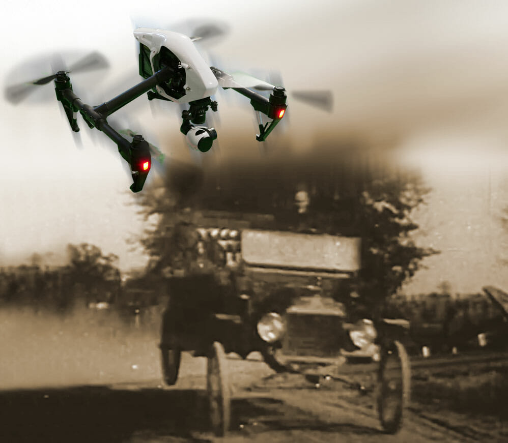 Most Popular: Drone or Horseless Carriage?